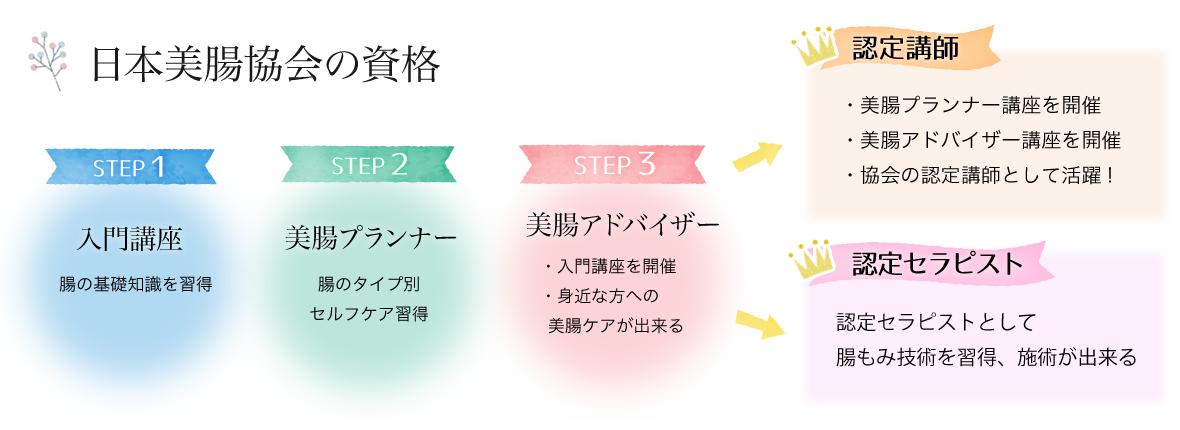 資格ステップ図